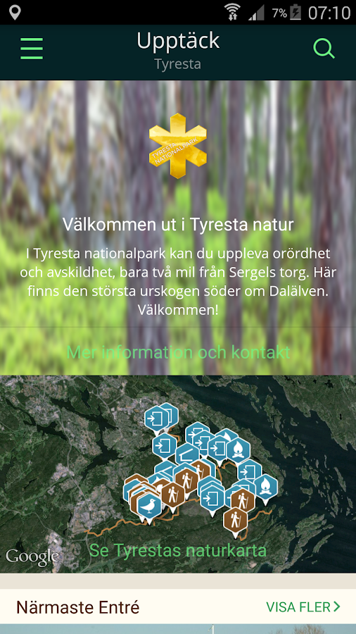 Tyresta Nationalpark- screenshot