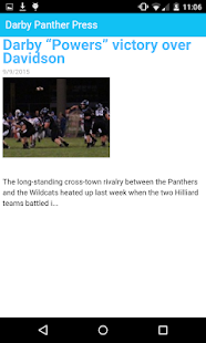 Panther Press Online - The App- screenshot thumbnail
