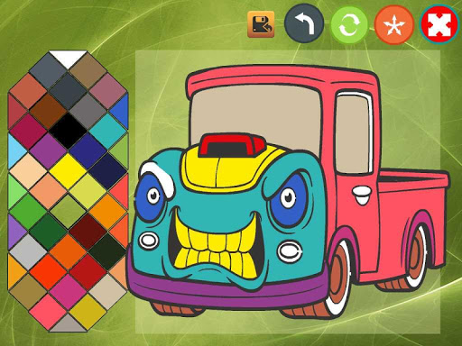 Car coloring book