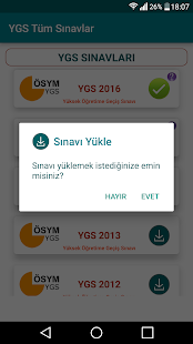YGS Sınavları - náhled