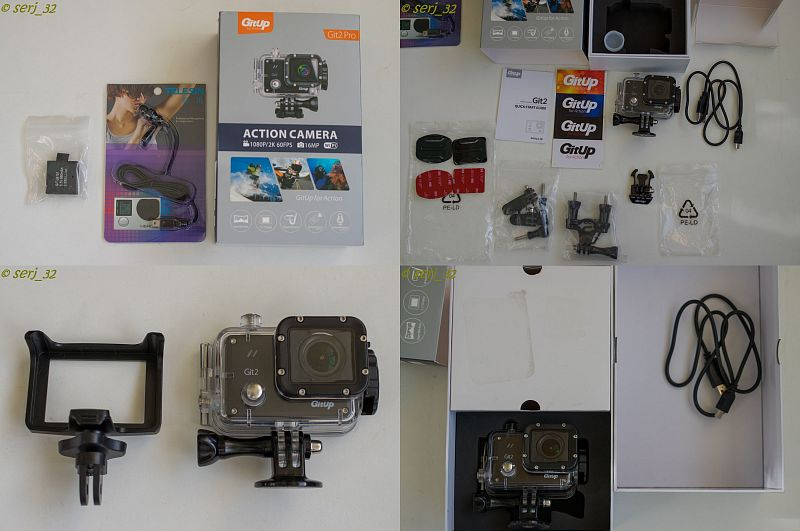 GearBest: Sjcam M20 vs Gitup Git2
