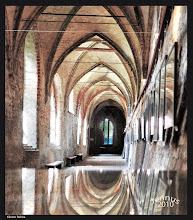 Photo: Kreuzgang im Benediktinerinnenkloster aus dem 13. Jahrhundert in Rehna in Mecklenburg