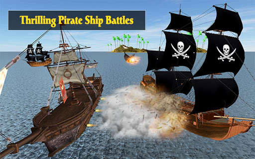 Caribbean Sea Outlaw Pirate Ship Battle 3D android2mod screenshots 7