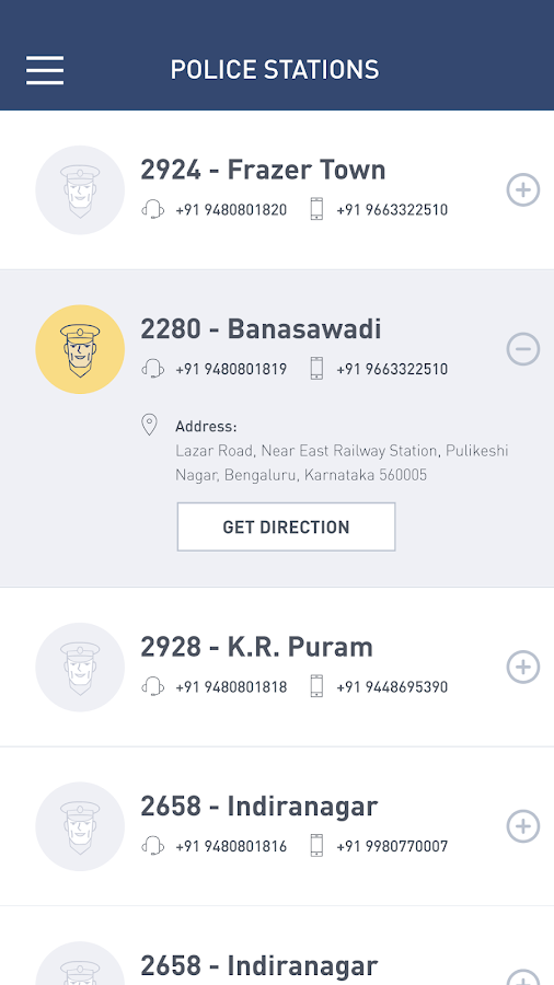 bSAFE - Bengaluru- screenshot
