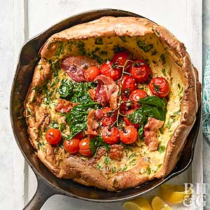 Spinach Dutch Baby