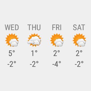 Transparent clock & weather Screenshot 28