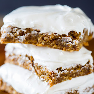 Chewy Brown Butter Oatmeal Creme Bars