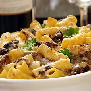 Barilla Baked Rigatoni with Porcini Mushrooms & Parmigiano Cheese