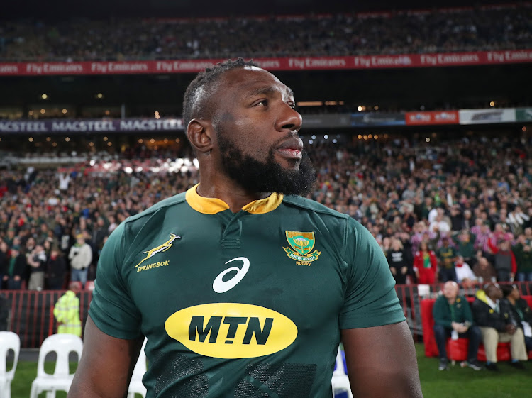 Tendai Mtawarira of South Africa will play his 100th Test match for the Springboks at Free State Stadium in Bloemfontein against England on Saturday June 16 2018.