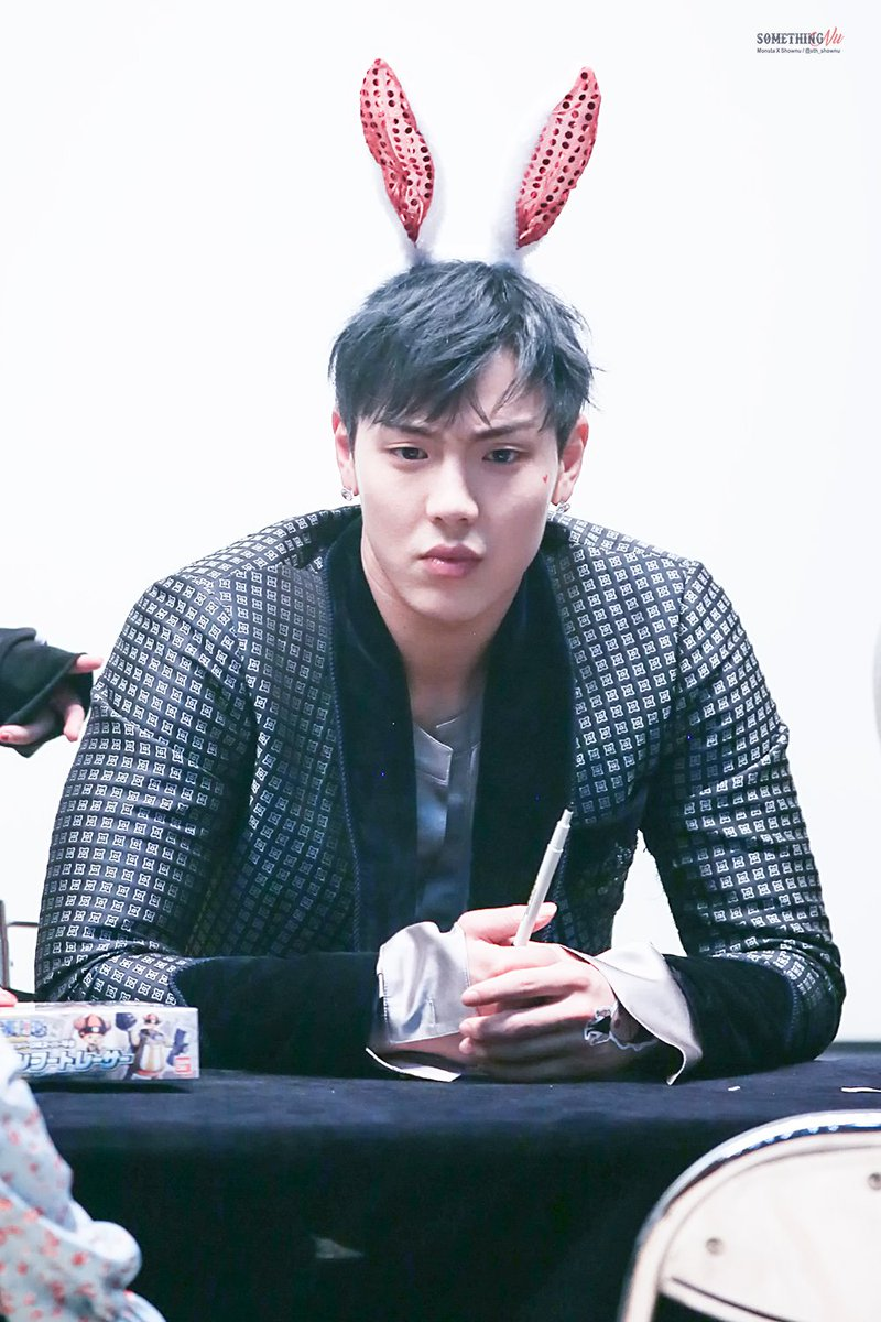 MONSTA X Shownu Bunny