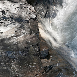 Flims, Multeg, Graubünden, Switzerland by Serguei Ouklonski - Nature Up Close Water ( rock - object, foam, purity, natural depression, rapid, summer, rock, stream, flowing water, sight, narrow, day, flow, scenics, glacial, no person, graubunden, travel destinations, motion, rapids, nature, cascade, tranquil scene, switzerland, wet, beauty in nature, water, flowing, power in nature, stone, environment, outdoors, daylight, natural object, geological formation, wilderness, valley, tranquility, river, travel, wild, no people, landscape, nature landscape )