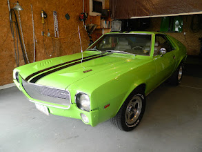 Photo: Colin Hillyard's '69 Big Bad Green 500 Special AMX