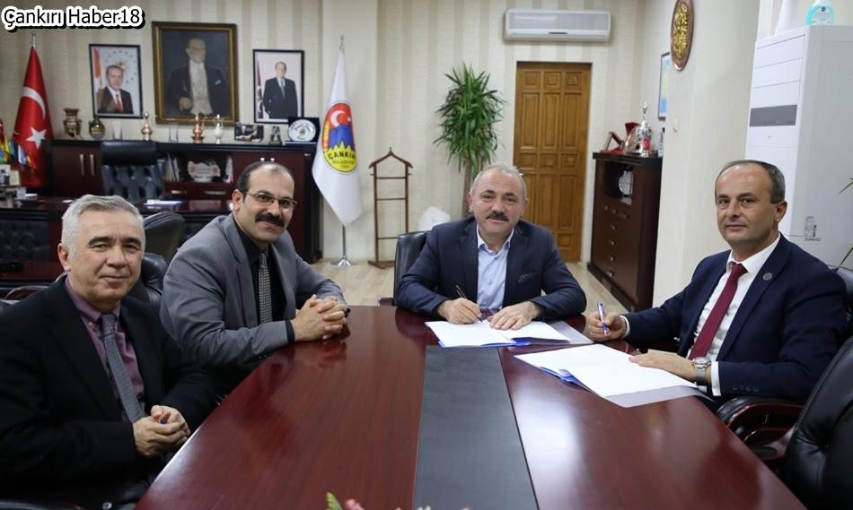 Çankırı Belediyesi,Çankırı İl Milli Eğitim Müdürülüğü,Belediye Başkanı,başkan İsmail Hakkı Esen,Muammer Öztürk,Belediye haberleri,