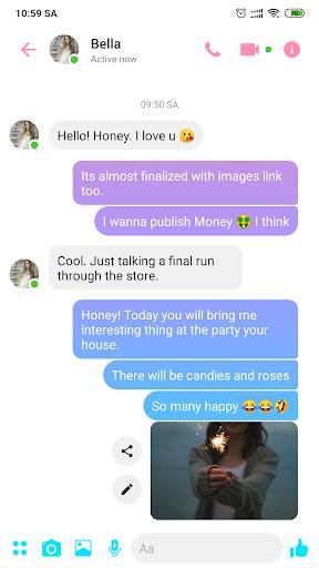 Fake Messenger 2019 screenshot 2