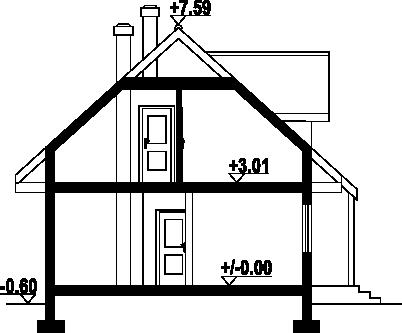 Olesno 3rs - Przekrój