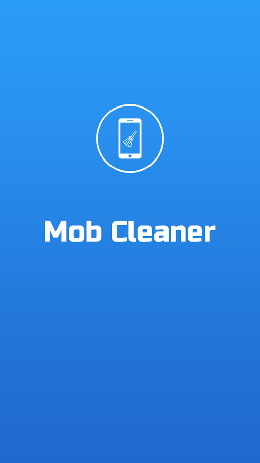 Mob Cleaner App- screenshot