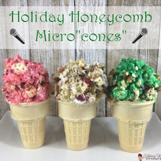 "Holiday Honeycomb® Micro""cones"""