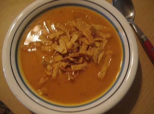 Mexican Butternut Squash Soup/caldo De Calabaza Recipe