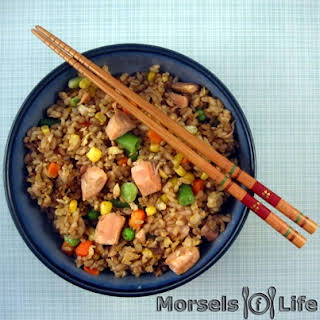 Salmon Fried Rice.