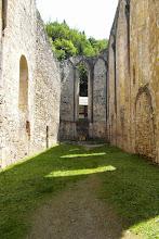 Photo: To był kościół, jak ktoś się dobrze przyjży, zobaczy drewniany krzyż pośrodku