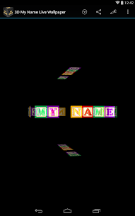 3D My Name Live Wallpaper Apk Latest Version Download For Android 10