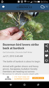 Bozeman Daily Chronicle- screenshot thumbnail
