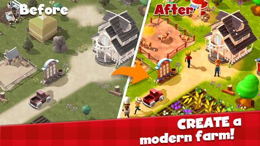 Happy Town Farm: Farming Games & City Building 1.0.0 screenshots 1