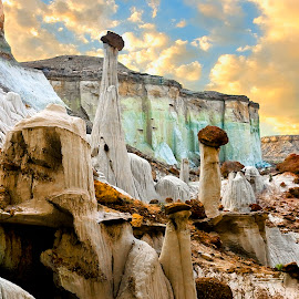 Ghost Valley by Craig Bill - Landscapes Mountains & Hills ( formations, sunset, hoodoos )