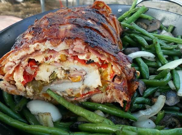Grilled Stuffed Pork Loin Recipe