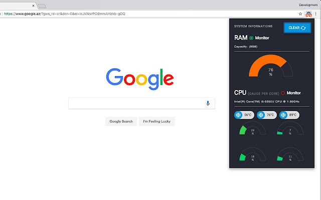 Monitor and Clean system's CPU / RAM usage