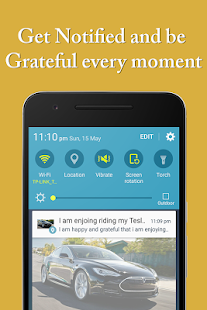 Gratitude Journal w/ Affirmation Reminder TAT App- screenshot thumbnail