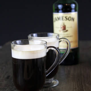 Authentic Irish Coffee.
