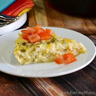 Green Chili Breakfast Casserole Recipe