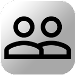 Clients Database (personnel) Icon