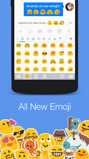 Messages - SMS Gif New Emoji