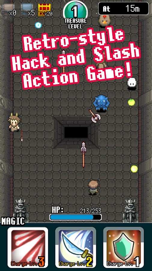 Pixel Dungeon Hero- screenshot