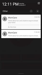 MomCare - náhled