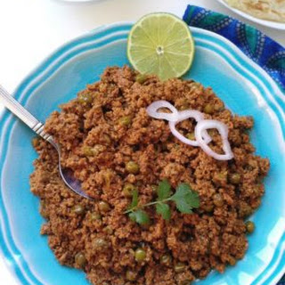 Melt-In-Your-Mouth Matar Keema (Ground Chicken with Peas)