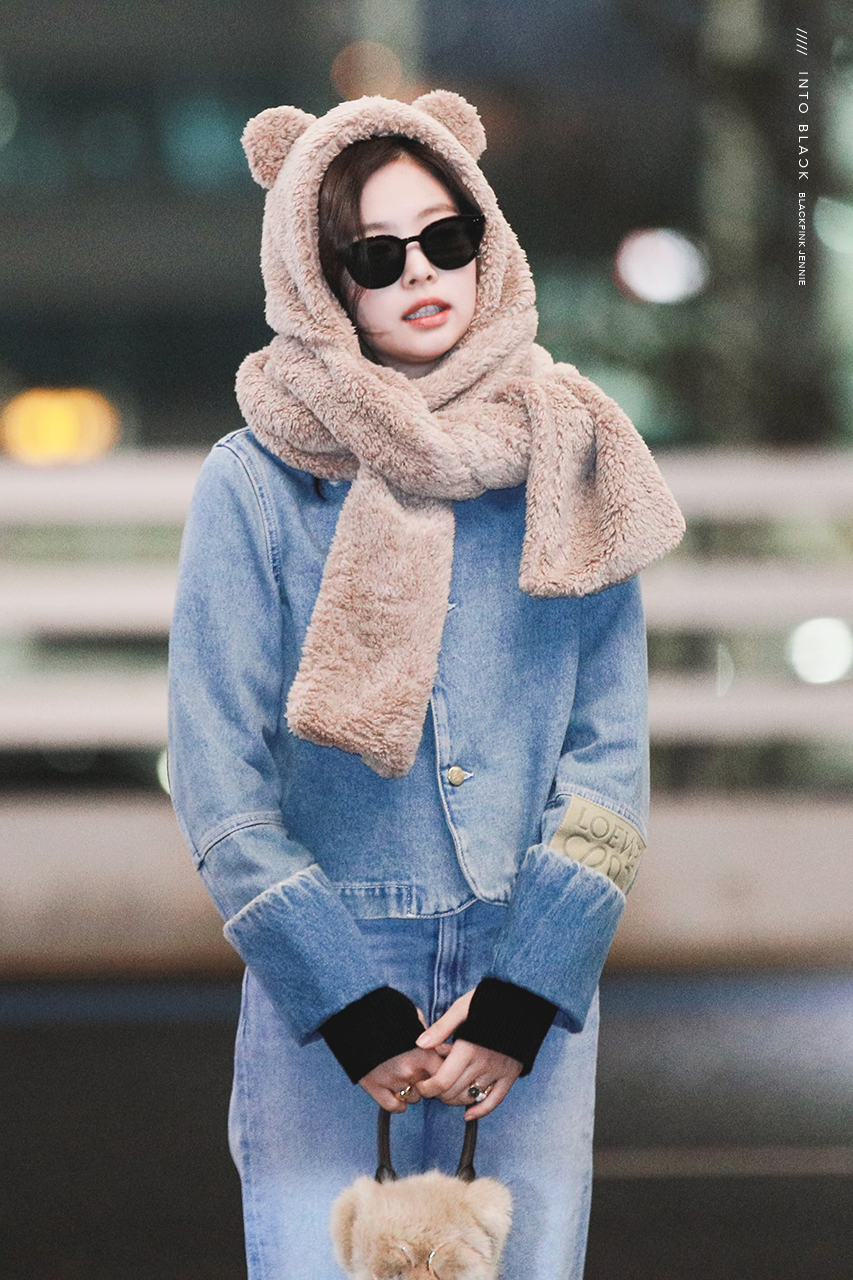 blackpink jennie airport fashion 2019 6