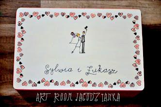 Photo: KUFEREK NA ŻYCZENIA GOŚCI - LOVELY HEARTS