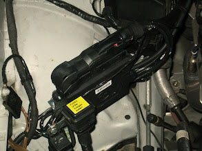 Photo: Steuergerät der Gasanlage, Sicherungshalter