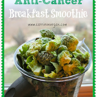 Anti-Cancer Breakfast Smoothie.
