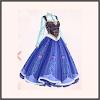 ドレス★王女・アナ