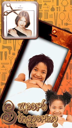 可愛い髪型シュミレーションアプリ