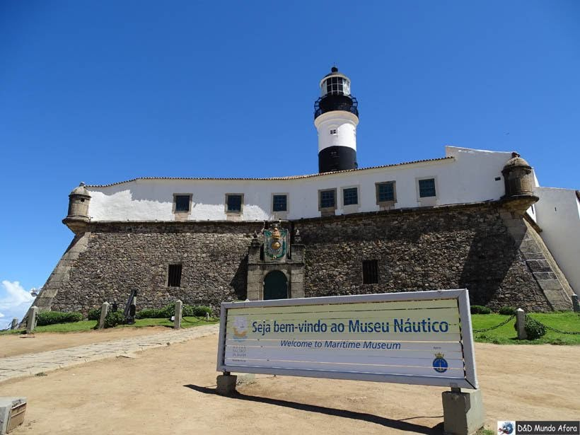 O que fazer em Salvador (Bahia) - Museu Náutico da Bahia - Farol da Barra