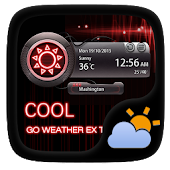 Cool GO Weather Widget Theme