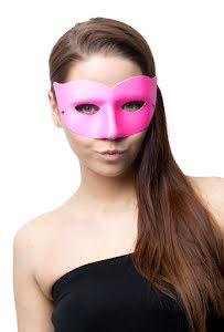 Ögonmask, Elegant rosa