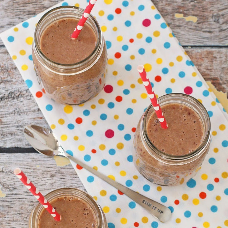 Dairy Free Oatmeal Fruit Smoothie