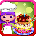 Dora birthday cake bakery shop icon