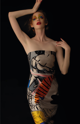 AS IF Collaboratory Salle Collection Dress